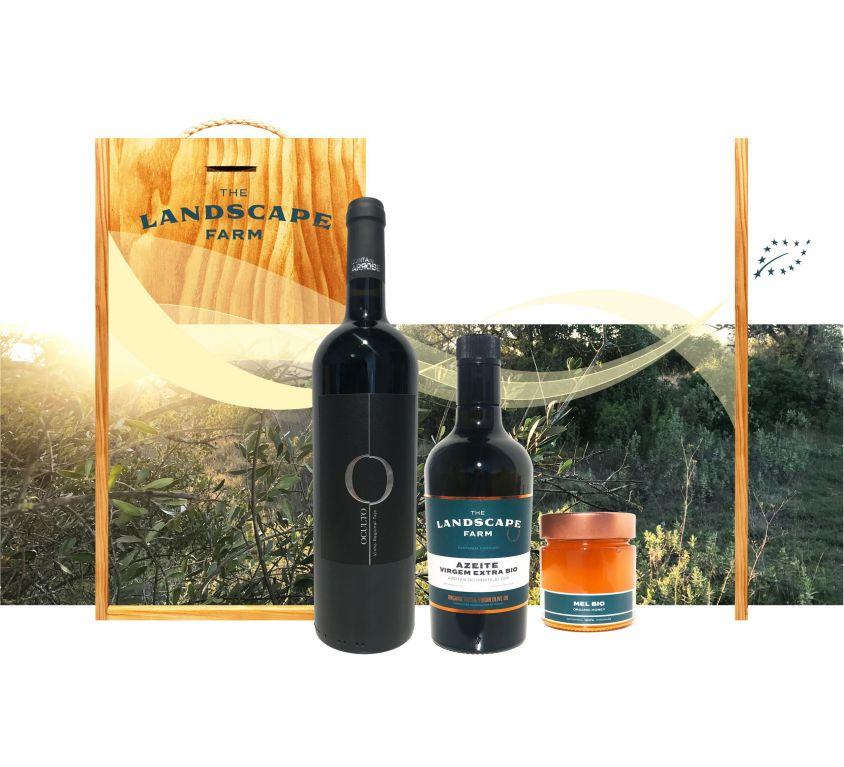 Cabaz do Bairro Ribatejano: Vinho, Azeite e Mel